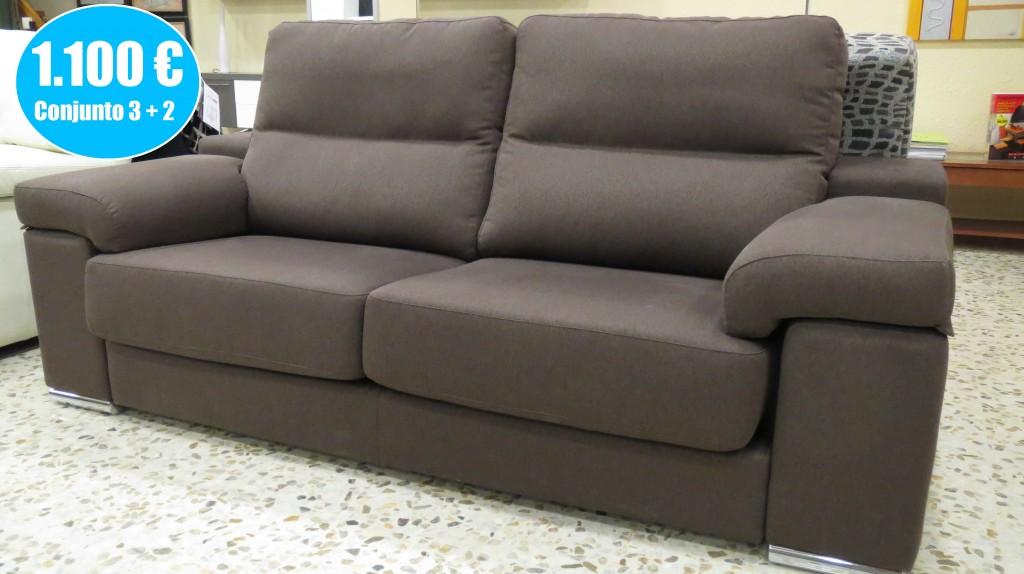 Oferta conjunto sofás 3 + 2
