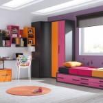 Dormitorio juvenil en tornos rosas