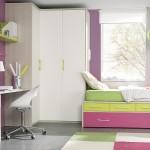 Dormitorio juvenil cama doble